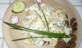 Jarní těstovinový salát