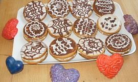 Medové koláčky s pudinkovým krémem