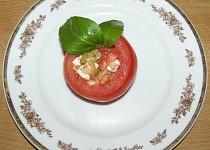 Plněná rajčata s kozím sýrem