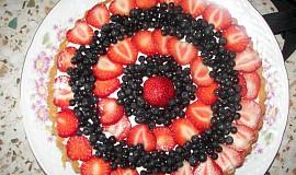 Letní osvěžující dort