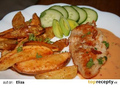Kuřecí plátky s jemnou zeleninovou omáčkou