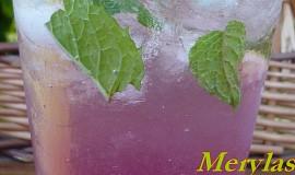 Malinové mojito
