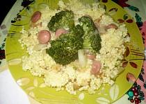 Brokolice s párkem