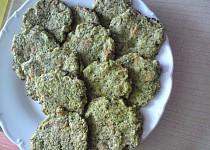 Zeleninové placičky pro nejmenší