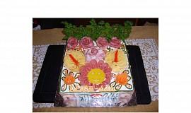 Slaný dort - smailík