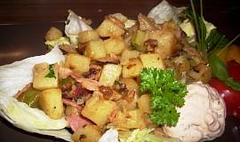 Rychlá bramborová večeře
