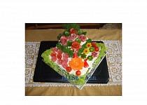 Slaný dort - patrový