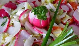 Ředkvičkový pikantní salát