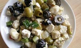 Salát z nakládaného balkánu