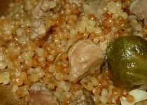 Kapustičky s kuřecím masem v tarhoni