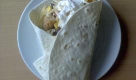 Plněné tortily