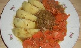 Myslivecké vepřové  s mrkví