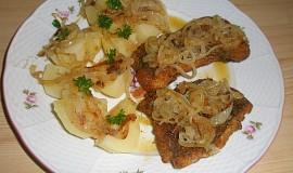 Mořská štika s máslovou cibulí