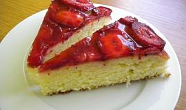 Jahodovo-želatinový dort