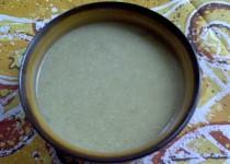 Cizrnová polévka s pohankou