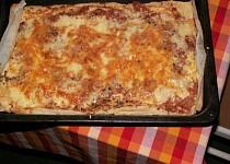 Francouzský koláč jako pizza
