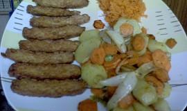Tempeh s pečeným bramborem a mrkví