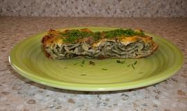 Lasagne s nivou, zelím a špenátem