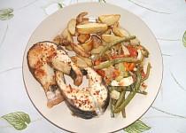 Amur na zelenině