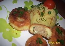 Sekaná v bramborovém těstě
