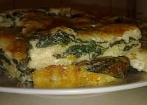 Špenátový nákyp se sýrem