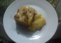 Kakaový dortík s mangovým krémem