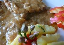 Kotletky na jablkovém pyré