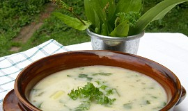 Jarní bramborová polévka