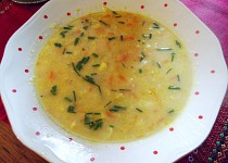 Kapustovo-květáková polévka se smetanou