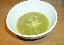Pórková polévka s brambory