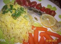 Rybí filet na citronu  (Parní hrnec)