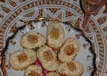 Hermelínová pomazánka s jablky