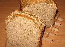 Lehoučký pivní kváskový chléb