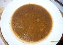 Dršťková polévka z drůbežích žaludků