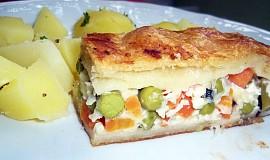 Zeleninová kapsa se sýrem