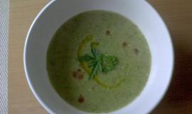 Hráškovo-brokolicová polévka