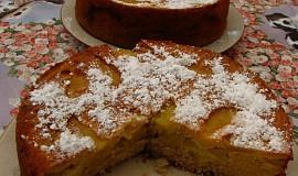 Jablečný koláč naruby dle časopisu Tina