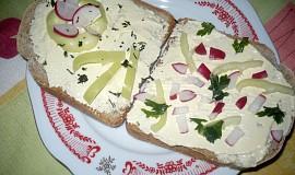 Sýrová pomazánka s křenem