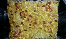Cibulový koláč 1