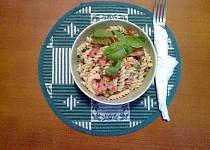 Těstovinový salátek s tuňákem