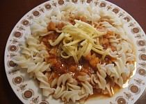 Boloňské filé k těstovinám