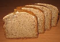 Jogurtový kváskový chléb se semínky
