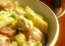 Těstovinový salát – verze TUŇÁK