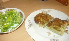 Zapečená brokolice s krůtím masem