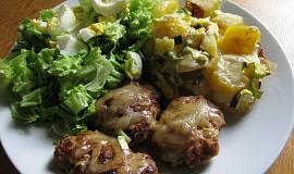 Masová dobrota se smetanovými brambory