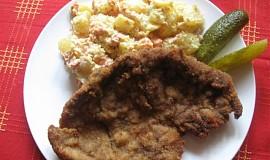 Přílohový bramborový salát