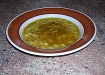 Zeleninová kmínová polévka