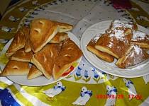 Francouské rohlíky-croissant