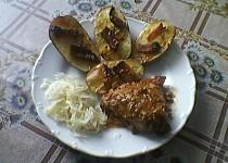 Pečené brambory se slaninou