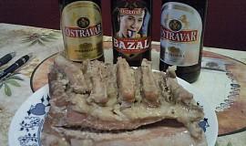 Pivní ovárek z bůčku